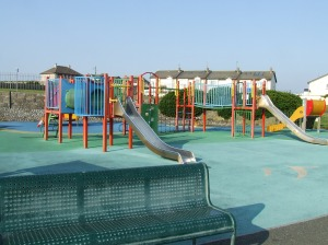Garden finished July 2014 etc Red Island playground, P French, 014